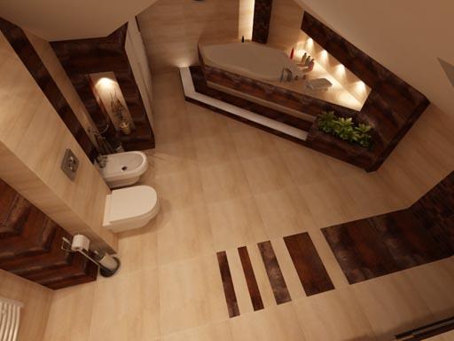 3D návrh kúpelní - Obrázok č. 105