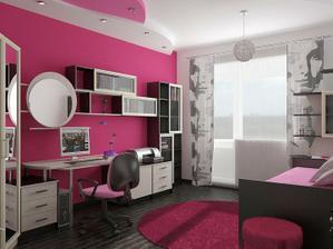 krásna izba pre tínedžerku