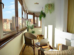 balkon/zimná záhrada