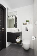 dolne wc - by som chcela ladit do takychto farbie, aby spodne podlazie bolo zariadene v jednom tone..