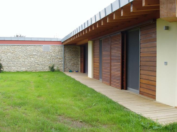 Návrh fasád kameň/drevo - Obrázok č. 7
