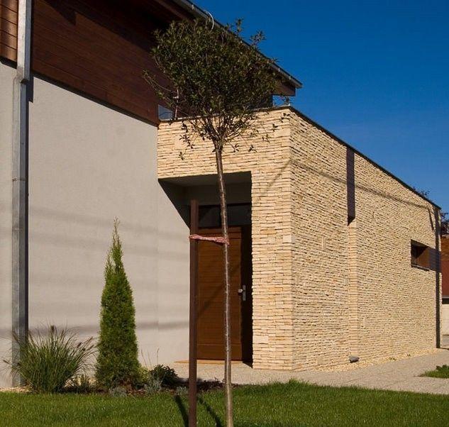 Návrh fasád kameň/drevo - Obrázok č. 22