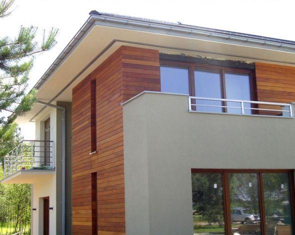 Návrh fasád kameň/drevo - Obrázok č. 4