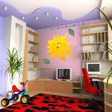 zaujimavy strop farebne odliseny