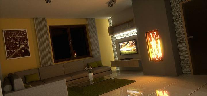 3D návrh obývačky - Obrázok č. 141