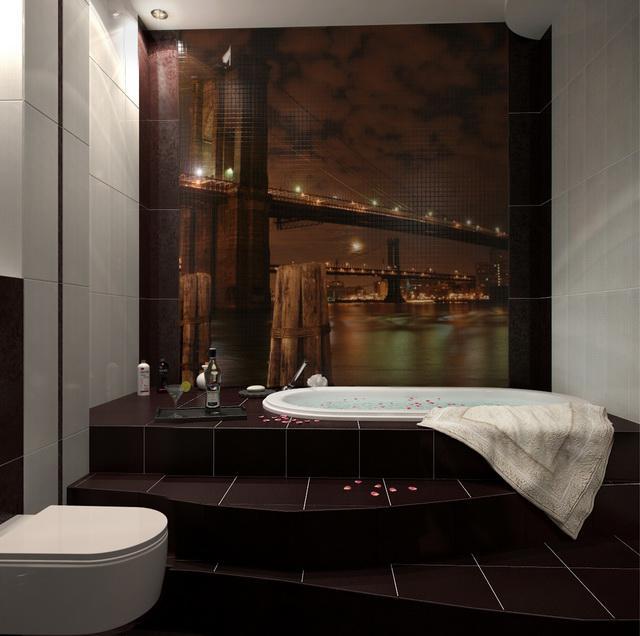 3D návrh kúpelní -