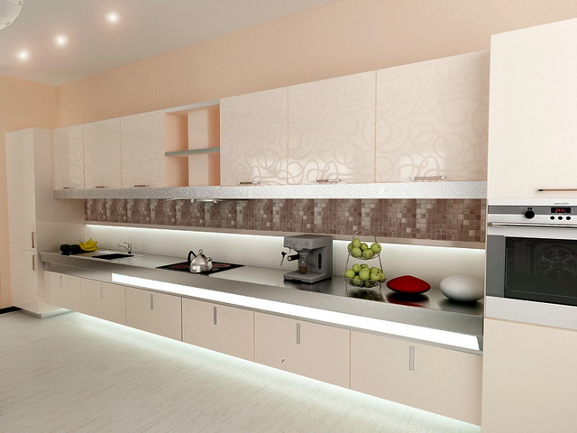 3D návrh kuchýň -