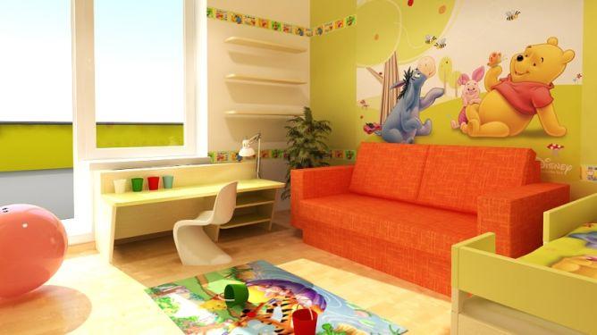 Inšpirácie - farebna detska izba ako ma byt :o)