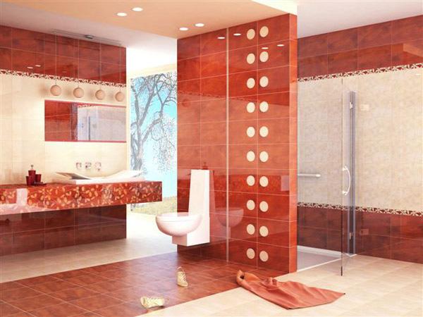 Návrh kúpelňových obkladov - PARADYZ - Hiroe
