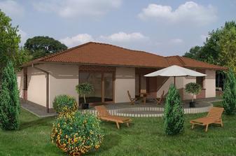 Vysnívaný dom, terasa len tršku inak