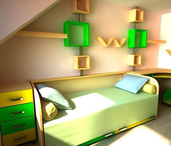 3D návrh detských izieb - Obrázok č. 122