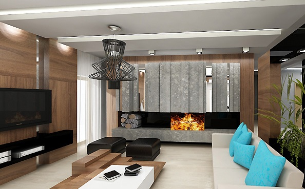 3D návrh obývačky - Obrázok č. 157
