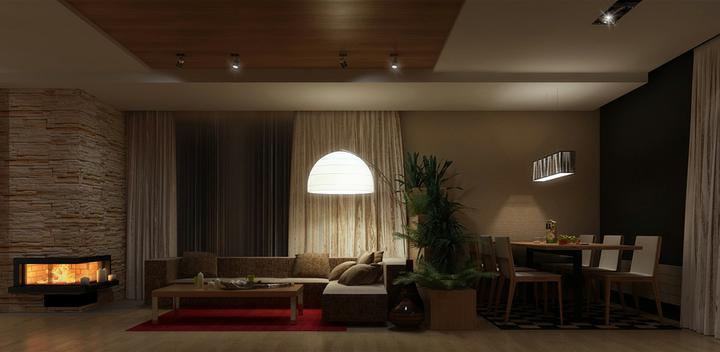 3D návrh obývačky - Obrázok č. 158