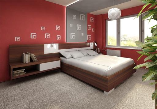 3D návrh spálni - Obrázok č. 99
