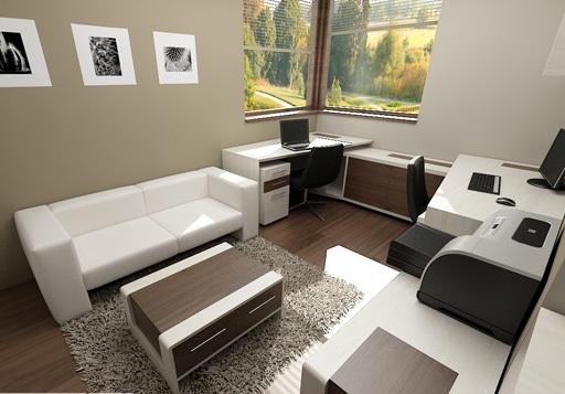 3D návrh kancelárií - Obrázok č. 25