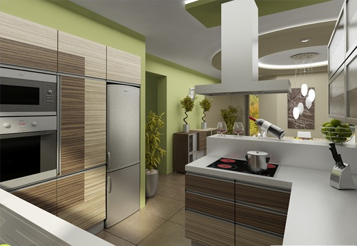 3D návrh kuchýň - Obrázok č. 188