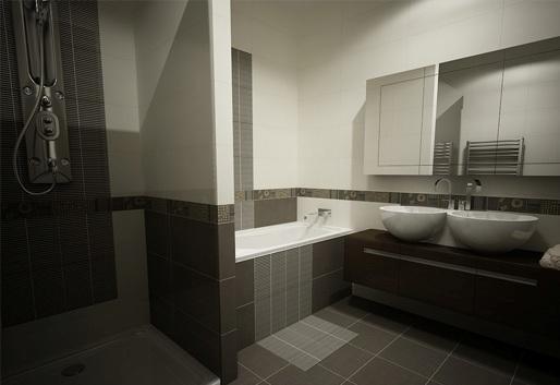 3D návrh kúpelní - Obrázok č. 160
