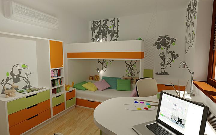 3D návrh detských izieb - Obrázok č. 158