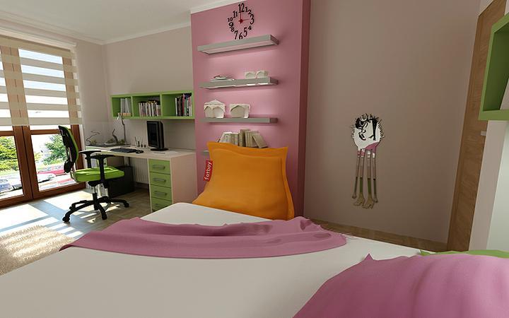 3D návrh detských izieb - Obrázok č. 160