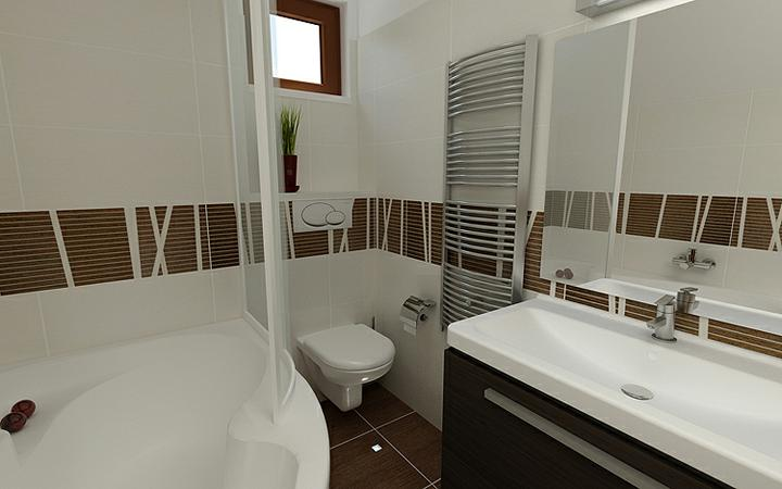 3D návrh kúpelní - Obrázok č. 210