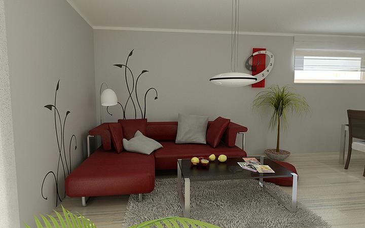 3D návrh obývačky - Obrázok č. 221