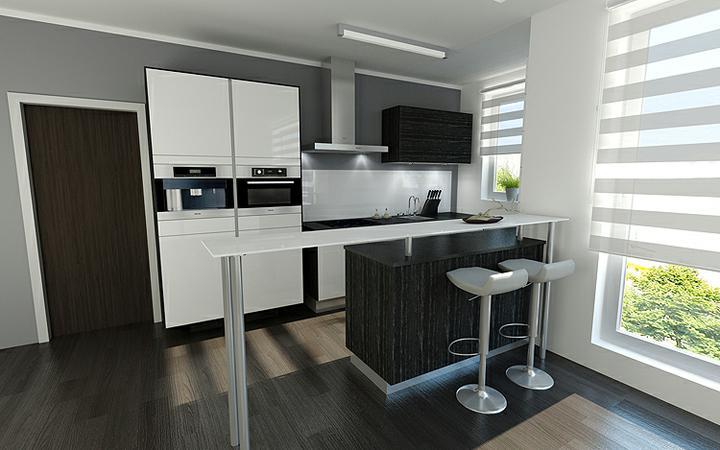 3D návrh kuchýň - Obrázok č. 218