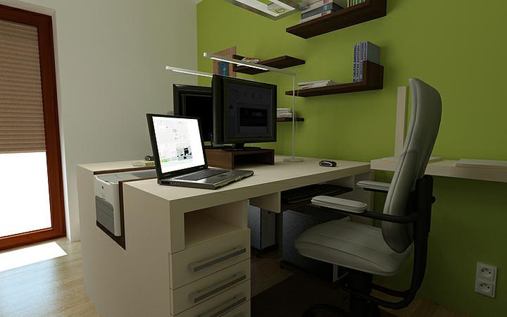 3D návrh kancelárií - Obrázok č. 36