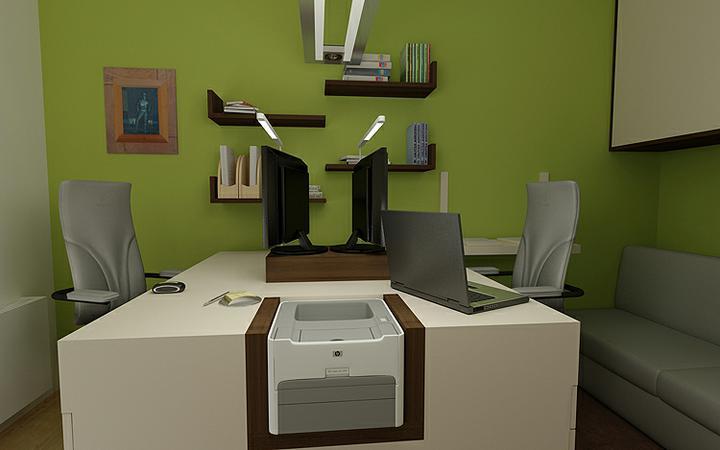 3D návrh kancelárií - Obrázok č. 37