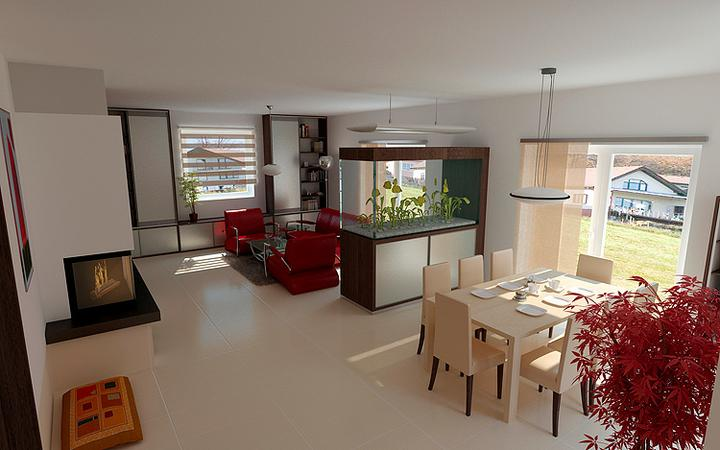 3D návrh obývačky - Obrázok č. 236
