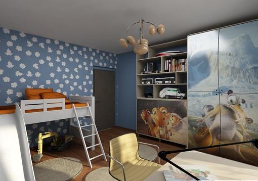 3D návrh detských izieb - Obrázok č. 170