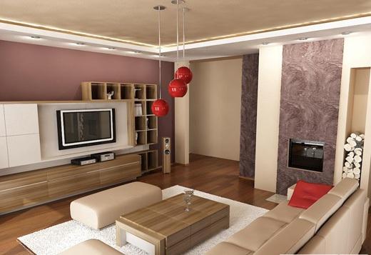 Úsilie o útulný a teplý domov - inšpirácie - fialová sa mi tam nepáči,ale to drevo nábytku je super