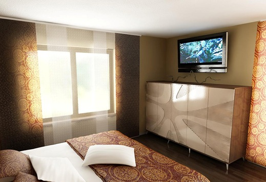 3D návrh spálni - Obrázok č. 136