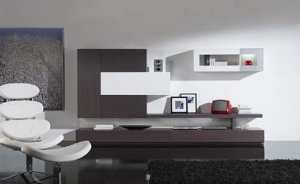 Obývacie izby v geometrických tvaroch - Obrázok č. 7