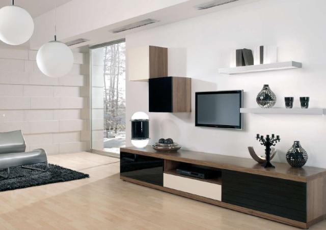 Obývacie izby v geometrických tvaroch - Obrázok č. 8