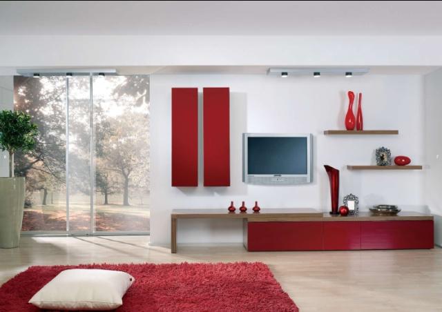 Obývacie izby v geometrických tvaroch - Obrázok č. 9