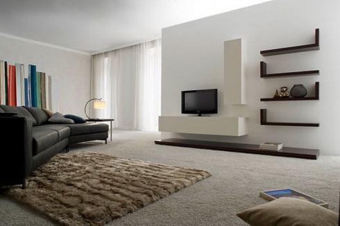 Obývacie izby v geometrických tvaroch - Obrázok č. 14