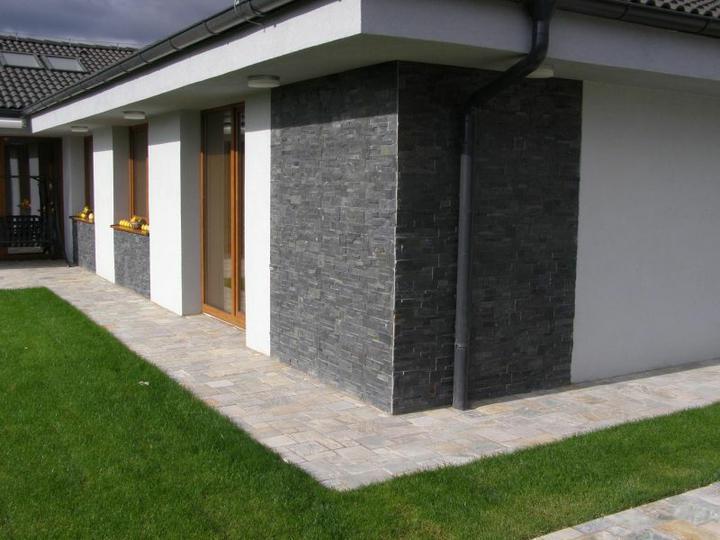 Návrh fasád kameň/drevo - Obrázok č. 95