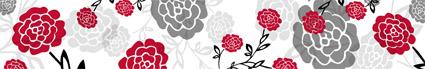 Tapety v interiéri - roses LONG