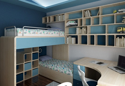 3D návrh detských izieb - Obrázok č. 194