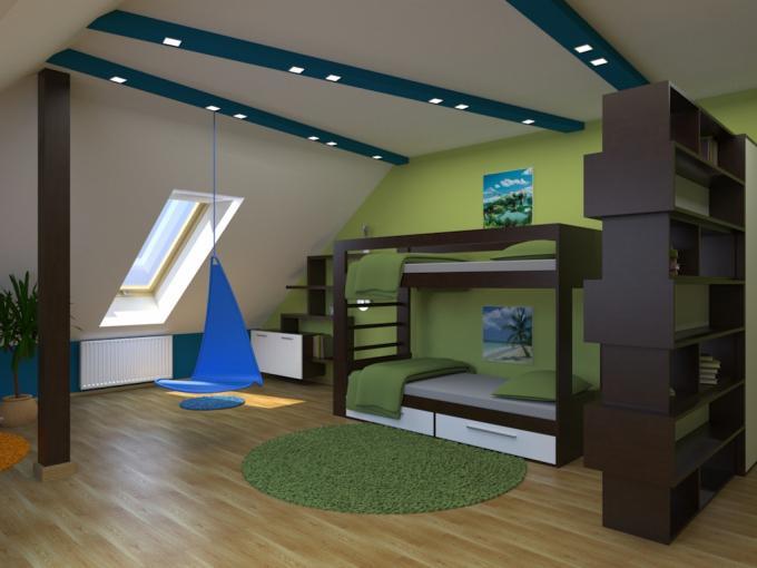 3D návrh detských izieb - Obrázok č. 198