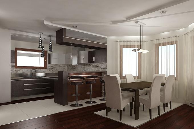3D návrh kuchýň - Obrázok č. 249