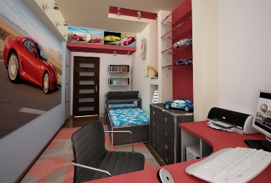 3D návrh bytových priestorov - Obrázok č. 31