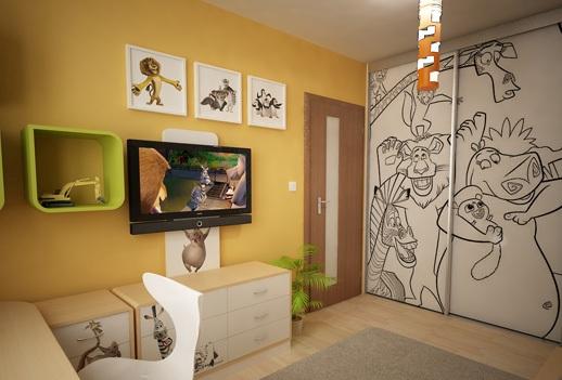 3D návrh detských izieb - Obrázok č. 209
