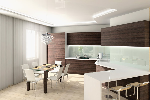 3D návrh kuchýň - Obrázok č. 273