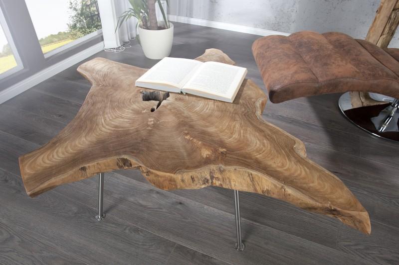 Exkluzivny konferenčný stolík z dreva Woodtok - Obrázok č. 1