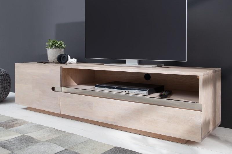 TV stolík Wotang Oak White - Obrázok č. 1