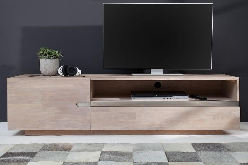 TV stolík Wotang Oak White - Obrázok č. 2
