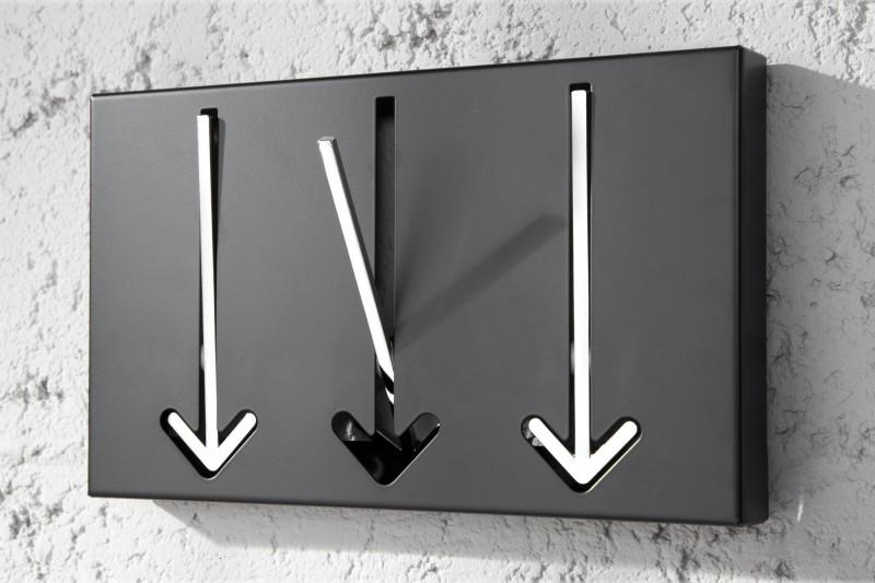 Vešiak na stenu s držiakom v tvare šípky. - Obrázok č. 3