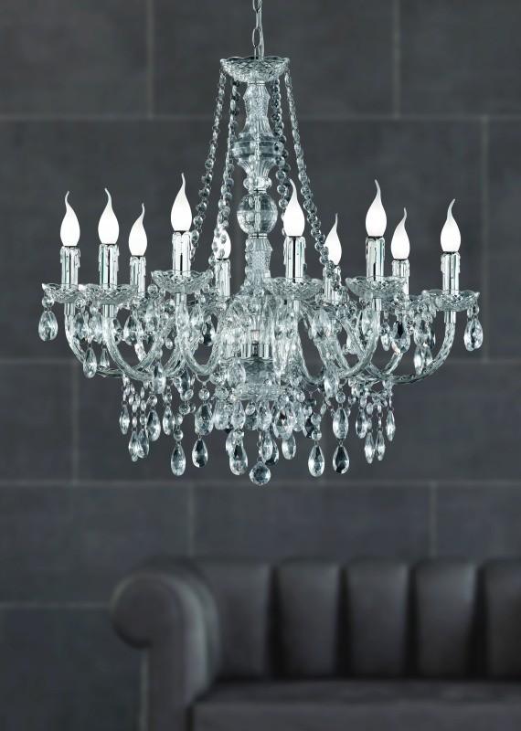 Luxusný luster s desiatimi svetlami. - Obrázok č. 3