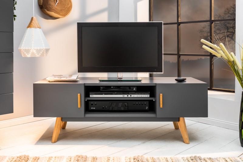 TV stolík Scener Gray - Obrázok č. 2